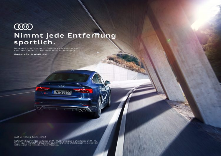 Digitales Leben – Postproduction, CGI, Retouching, Composing - Alex Rank, Audi A5, Postproduction