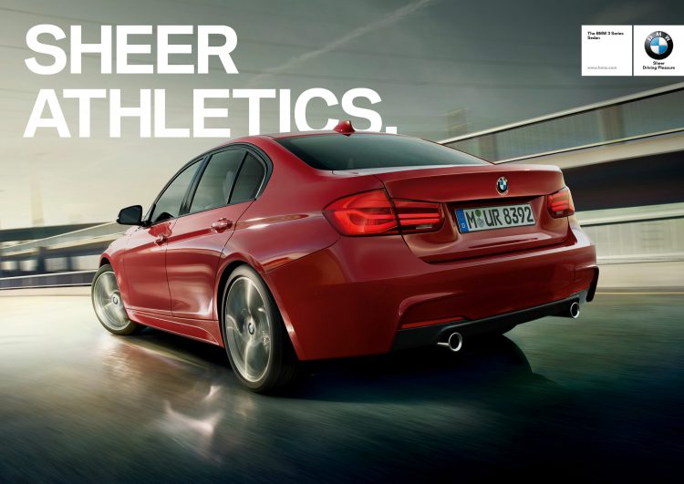 Digitales Leben – Postproduction, CGI, Retouching, Composing - Uwe Düttmann, BMW 3er Serie, Postproduction, CGI