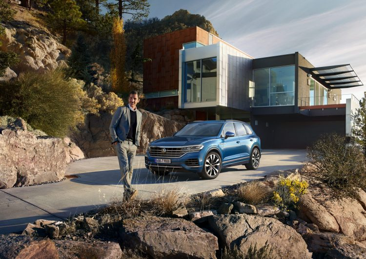 Digitales Leben – Postproduction, CGI, Retouching, Composing - Uwe Dütmmann VW Touareg, CGI, Postproduction