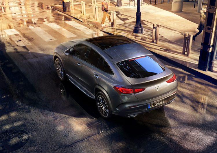 Digitales Leben – Postproduction, CGI, Retouching, Composing - Mercedes Benz GLE Coupe, Alex Rank, Antoni